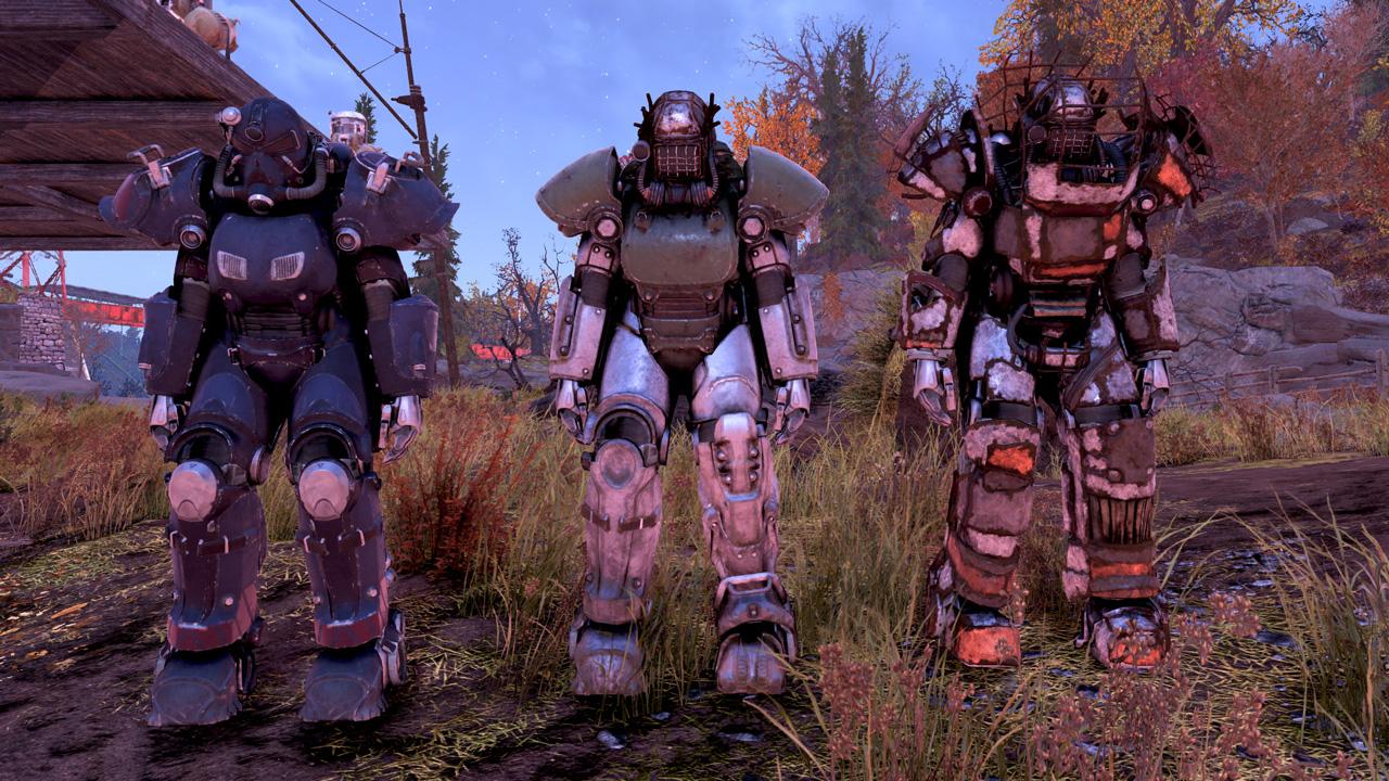 Fallout76・見つけたパワーアーマー